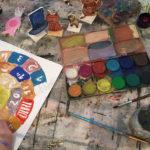 jeux de l'oie anniversaires arts plastiques atelier Bridaine