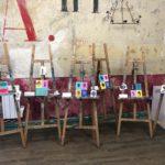 anniversaires créatifs peinture