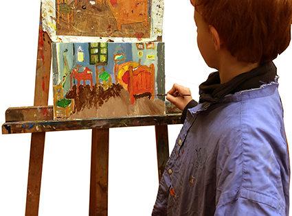 Van Gogh-stage peinture-enfant-juillet
